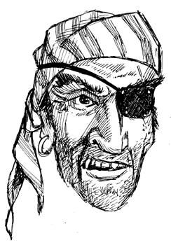 piraten schwarz wei u00df